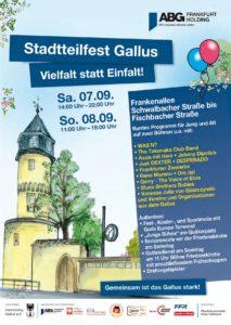 Stadtteilfest Gallus 2019